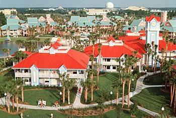 Caribbean Beach, Disney World, Orlando, FL - June 2009