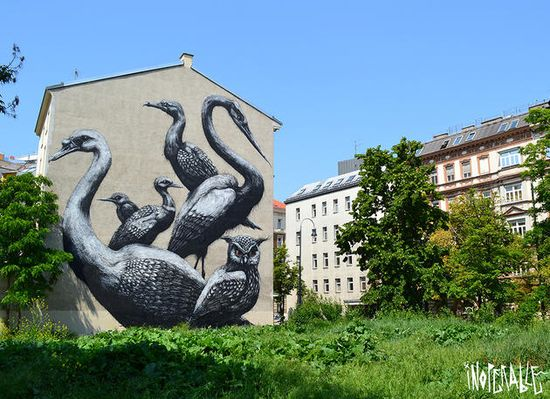 Cool graffiti wall