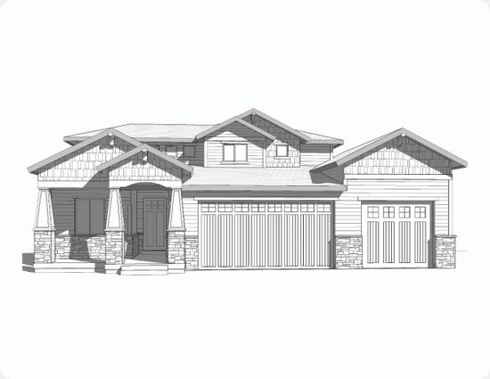 Walker Home Design: Breckenridge Plan