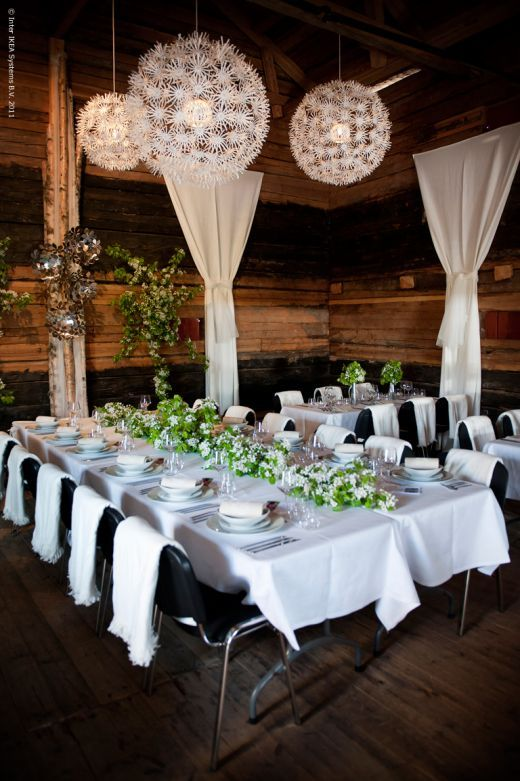 Wedding in the barn