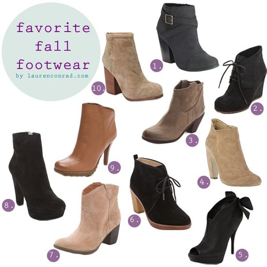 10 Must-Have Fall Booties