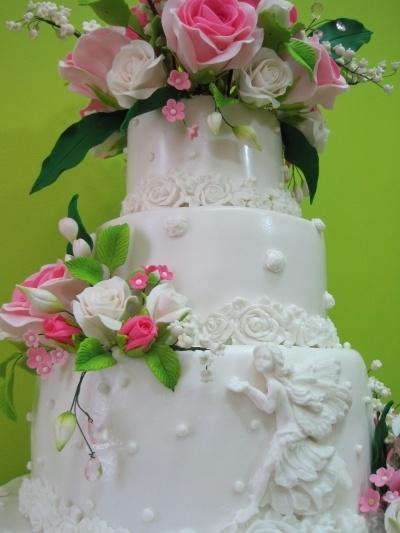 Wedding Fairy By GaliaHristovaGuGi on CakeCentral.com