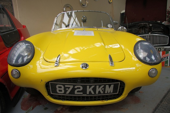 Berkeley sports cars manufactured by Berkeley Coachworks of Biggleswade (UK) from 1956 through 1960