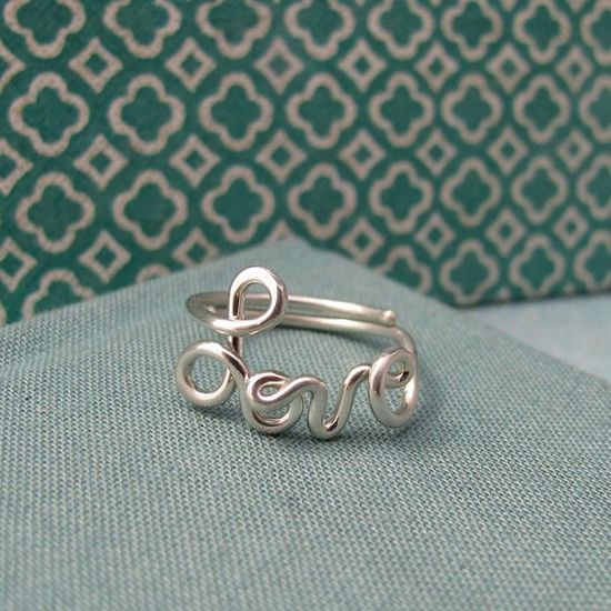 """Love this """"Love"""" ring!"""