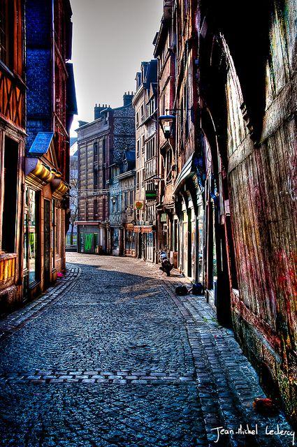 Street of Rouen, #France Getaway at  #Luxury #Travel