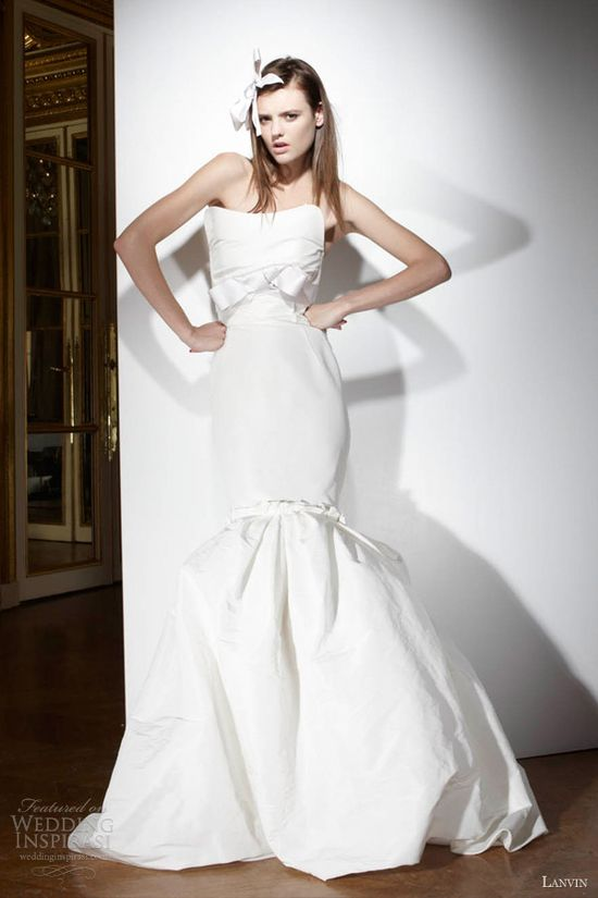 Lanvin Spring 2013 Wedding Dresses — Blanche Bridal Collection