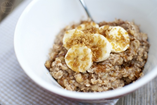 Banana Bread Oatmeal #vegan