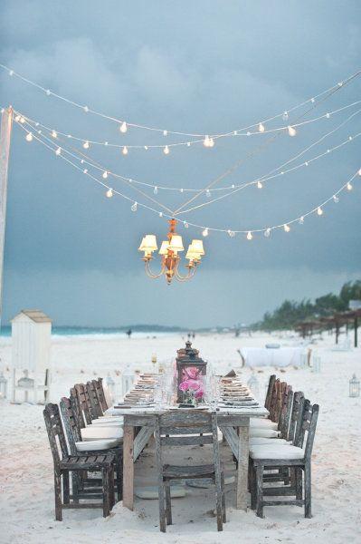 Dining On The Beach!