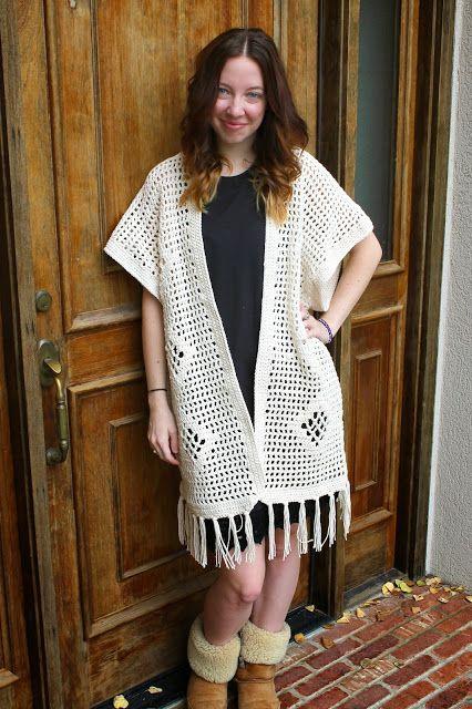 Sans Limites Crochet: The Vintage Style Poncho