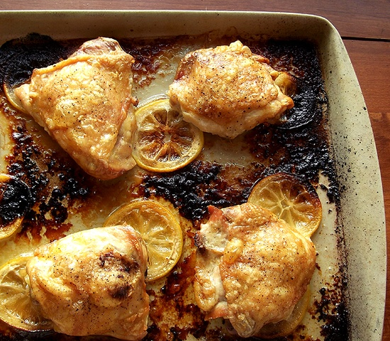 Lemon Chicken from Donna Hay Magazine via Taking On Magazines