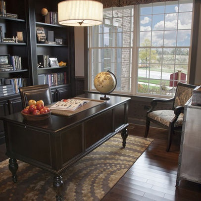 Globes are always nice...Masculine Office Design, Pictures, Remodel, Decor and Ideas - page 4