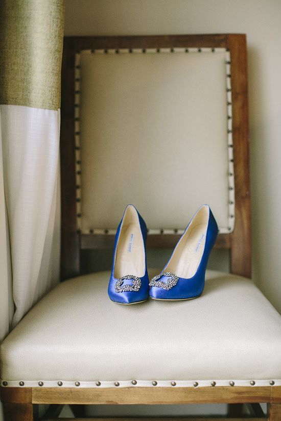something blue! Why not your Wedding Shoes!