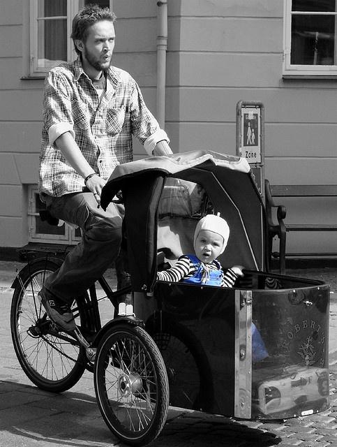 Bikes of Copenhagen, Denmark.