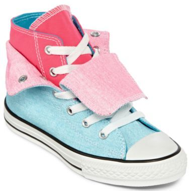 Converse® Two Fold Chuck Taylor Hi Top Girls Shoes