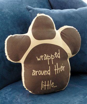 Cute pet only pillow