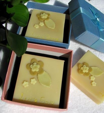 Creative handmade soap