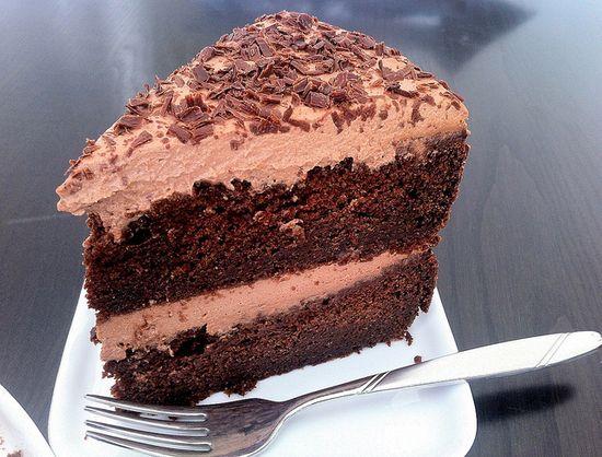 Foolproof Triple Chocolate Cake