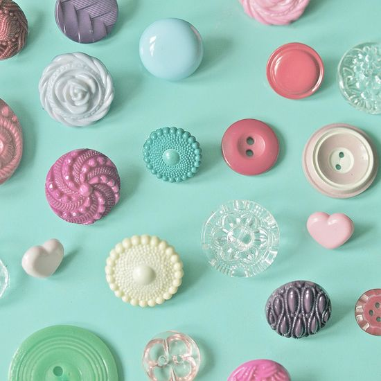 vintage buttons #buttons