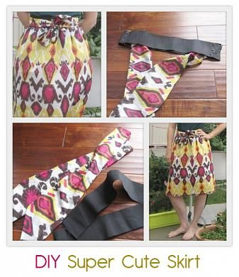 To Be Charmed» { Super cute DIY skirt }