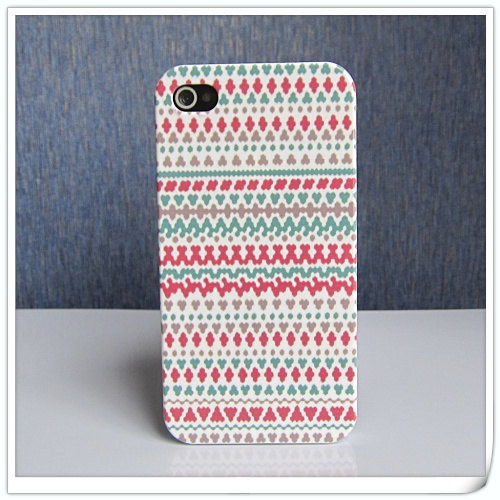 iphone 4 case iphone 4s case colorful wave style iphone case for iphone 4&4s, iphone cover iphone case. $9.55, via Etsy.