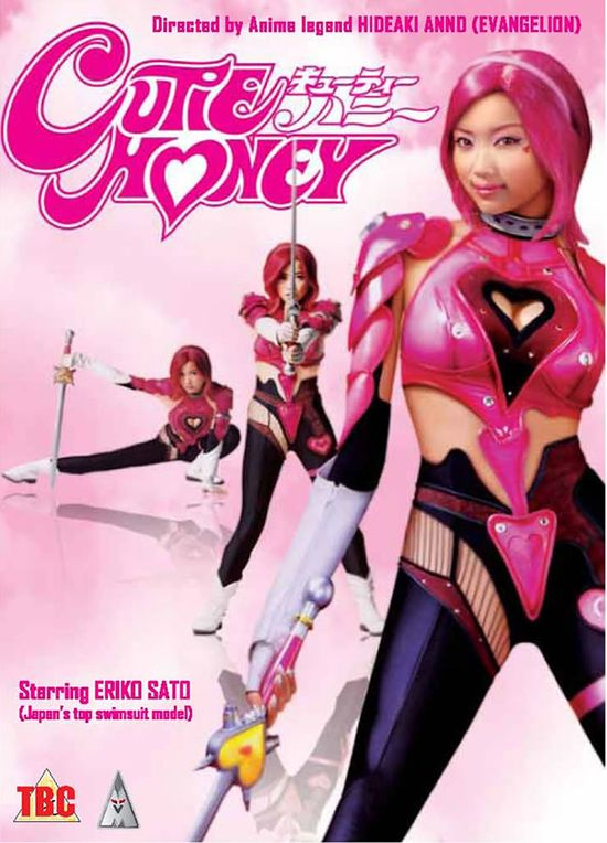 Cutie Honey - This movie could give many superhero flicks a run for their money: The special effects are brilliant, costumes are a cosplayer's dream come true and though the acting is deliberately comical it adds to the overall movie, giving it an edge others do not have.