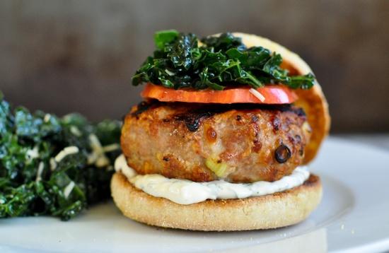 Favorite Turkey Burger by marinmamacoooks #Turkey_Burger