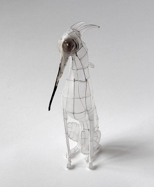 Beautiful paper and wire works by Polly Verity.