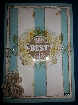 Great Sport and Blue Ribbon Stampin Up sets