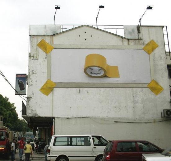 Creative & Clever Ads On Buildings