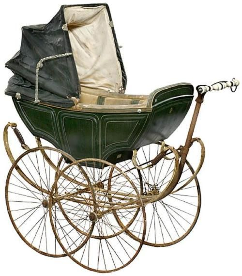 antique English pram