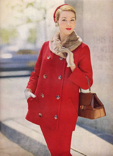 Red Suit. ? 1950's