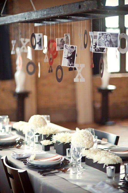 cute wedding decoration idea