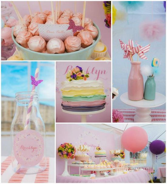 Butterfly Themed 1st Birthday Party with SUCH CUTE IDEAS via Kara's Party Ideas