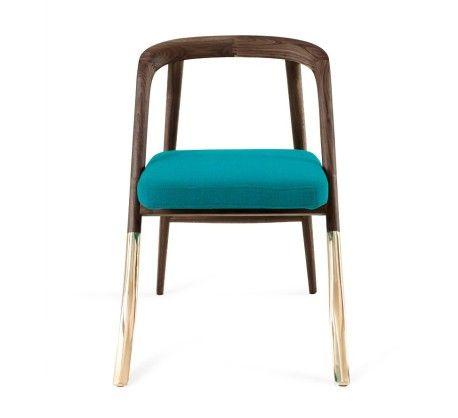 Alma chair brass legs