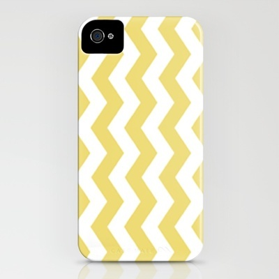 Zig Zag iPhone case by Laura Ruth ($35)