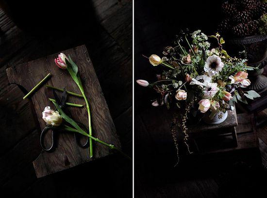 Saipua floral arrangement - tulips