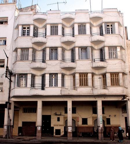 Casablanca Art Deco architecture