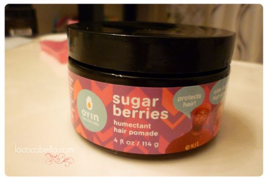 Sealant :: Oyin Handmade Sugar Berries Humectant Hair Pomade . : La Coco Bella : .  #NaturalHair #LaCocoBella #Lauren