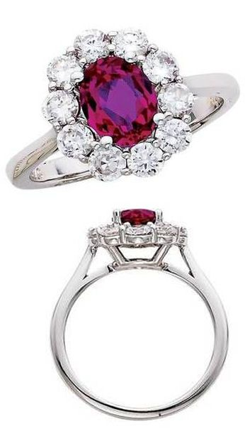 Vintage Ruby + Diamond Ring ?