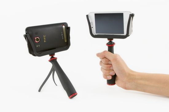The slingshot stabilizer -- great for you Vine and Instagram video addicts. And fits any smartphone.