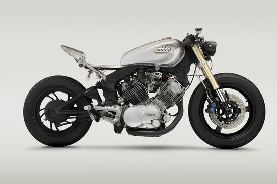 "Yamaha XV 750 Virago ""Reciprocity""   - Pipeburn - Purveyors of Classic Motorcycles, Cafe Racers & Custom motorbikes"
