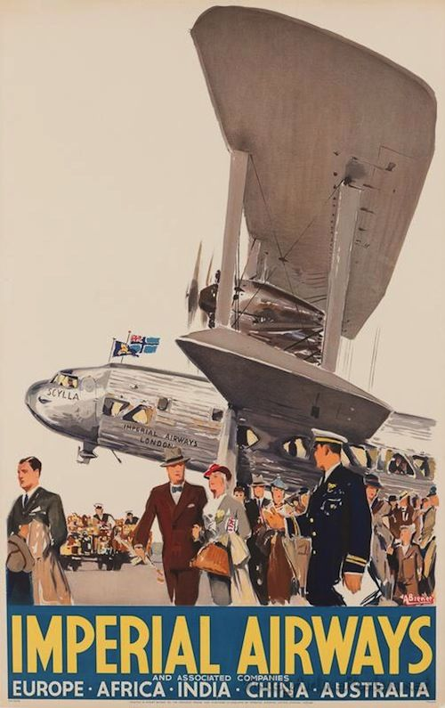 The largest collection of vintage airline posters.