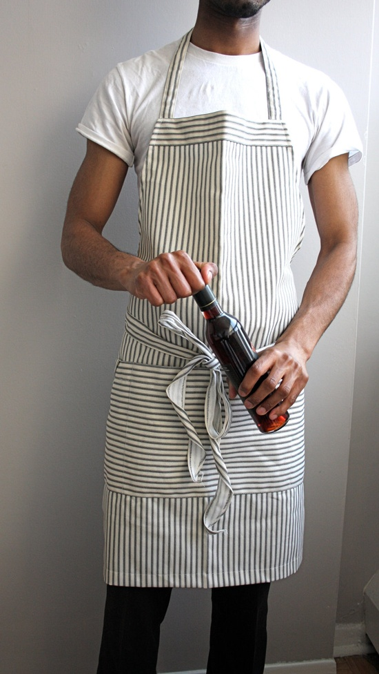 Men's grilling apron. @Jen Inumerable Fetzer Or this!