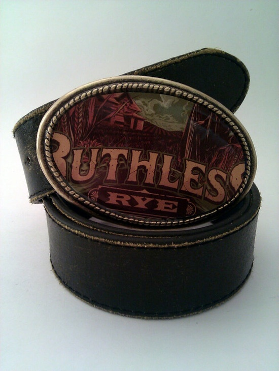 Ruthless Rye  Labeled Belt Buckle by whattawaist on Etsy, $27.00 Studio 11 Emporia, Kansas