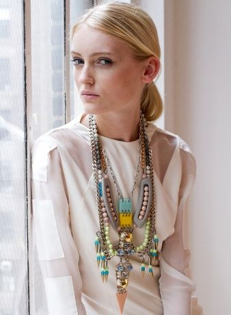 FENTON necklace - spring 2012