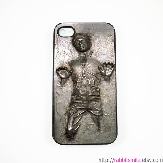 iPhone 4 Case iPhone 4s Case Star Wars Han Solo in by rabbitsmile. $16.00 USD, via Etsy.