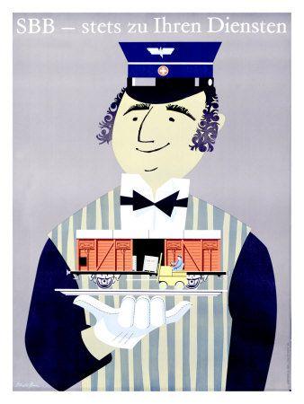 Swiss Travel Ads (Vintage Art) Prints at AllPosters.com