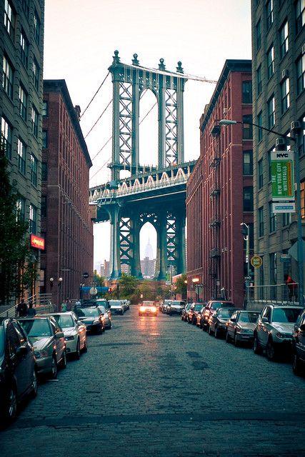 Down Under the Manhattan Bridge Overpass.