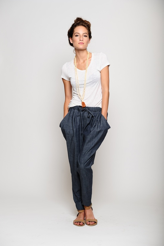 Jackie Pant, Emma Tee - PiperGore SS '13