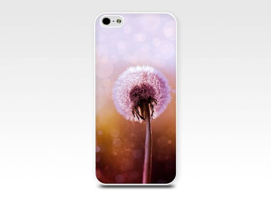 iphone case dandelion iphone 4 4s 5 case by mylittlepixels